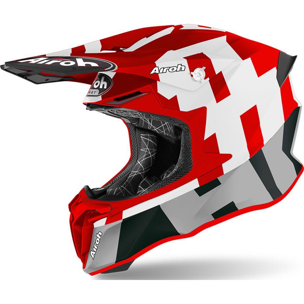 Casca Twist 2.0 Frame Red Matt 2020