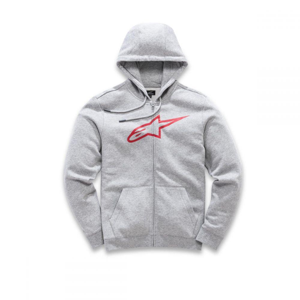 Hanorac Ageless Zip Up Gray/Red S9
