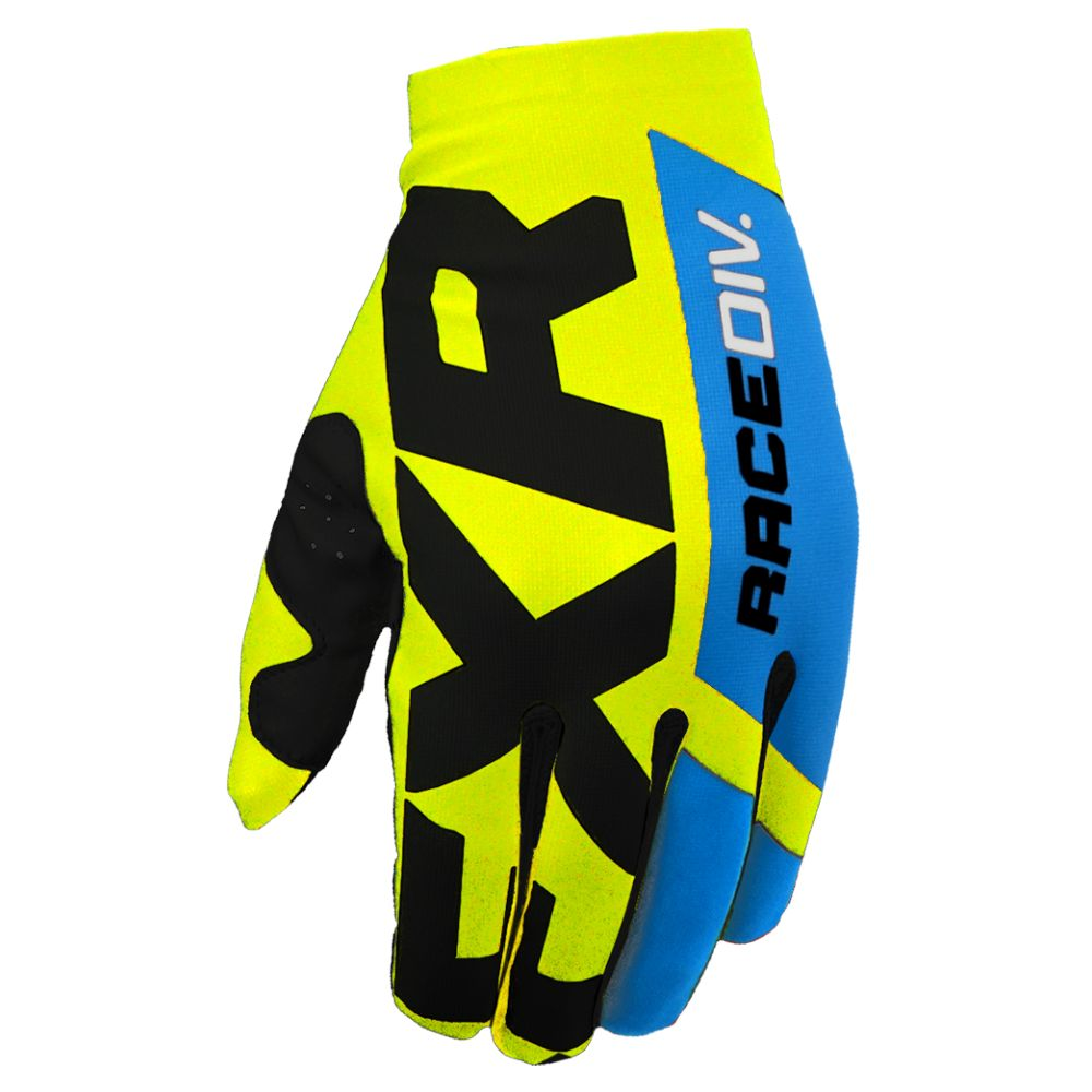 Manusi MX Slip-On Lite Hi Vis/Black/Blue 2020