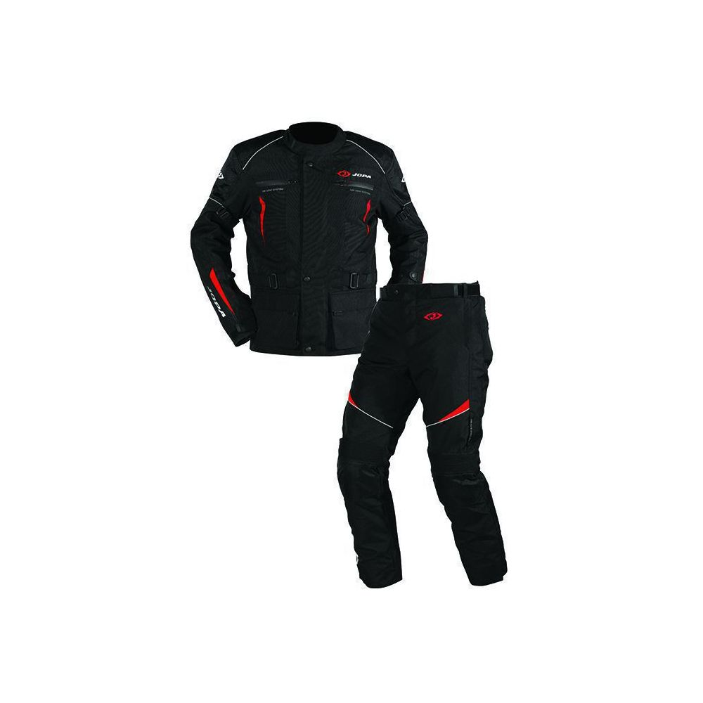 Combinezon ATV Omega V2 Geaca + Pantaloni Black/Red