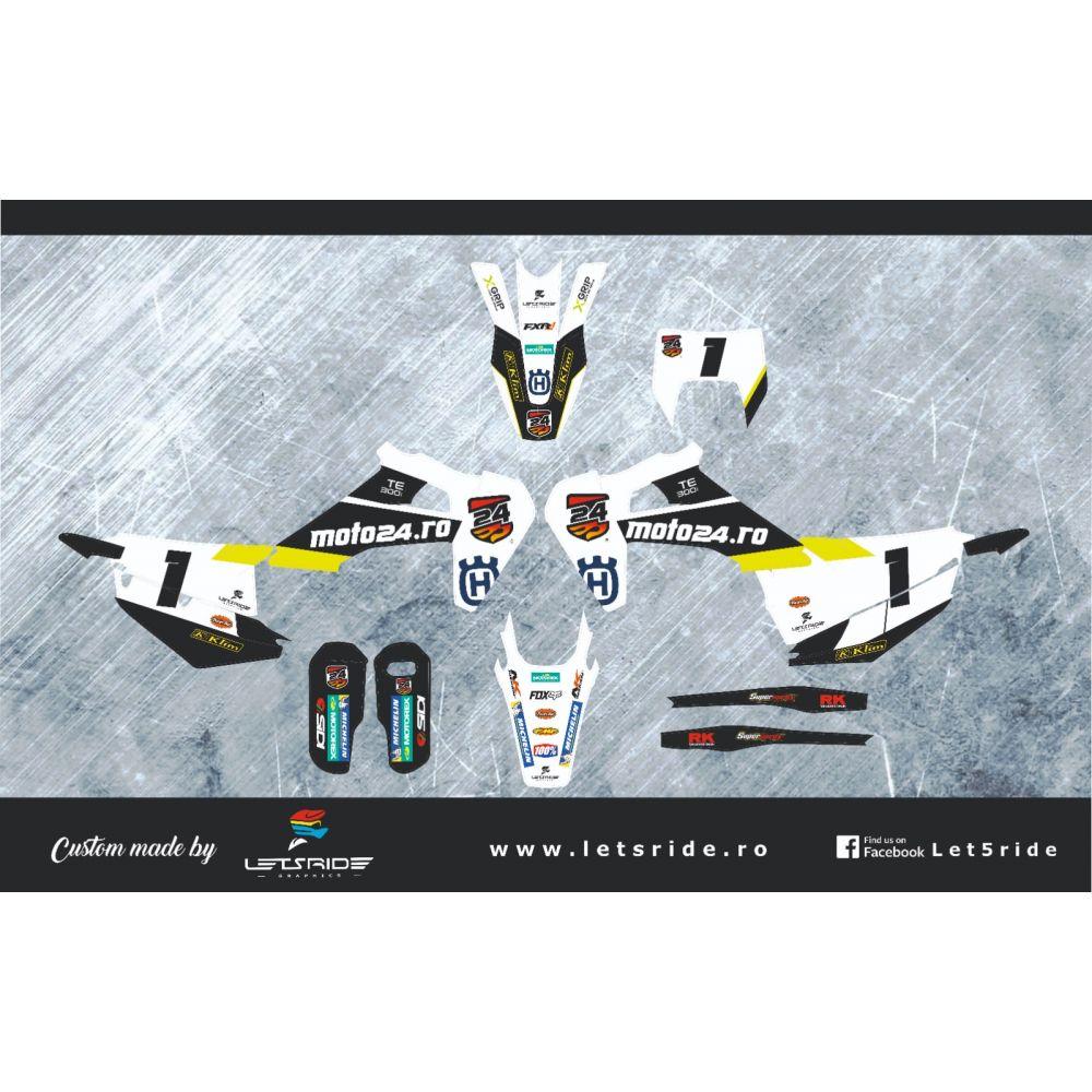 Kit Grafice Moto24 2019-2020 Husqvarna