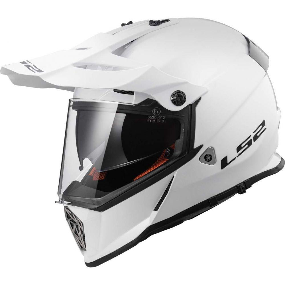 Casca ATV MX436 Pioneer Gloss White