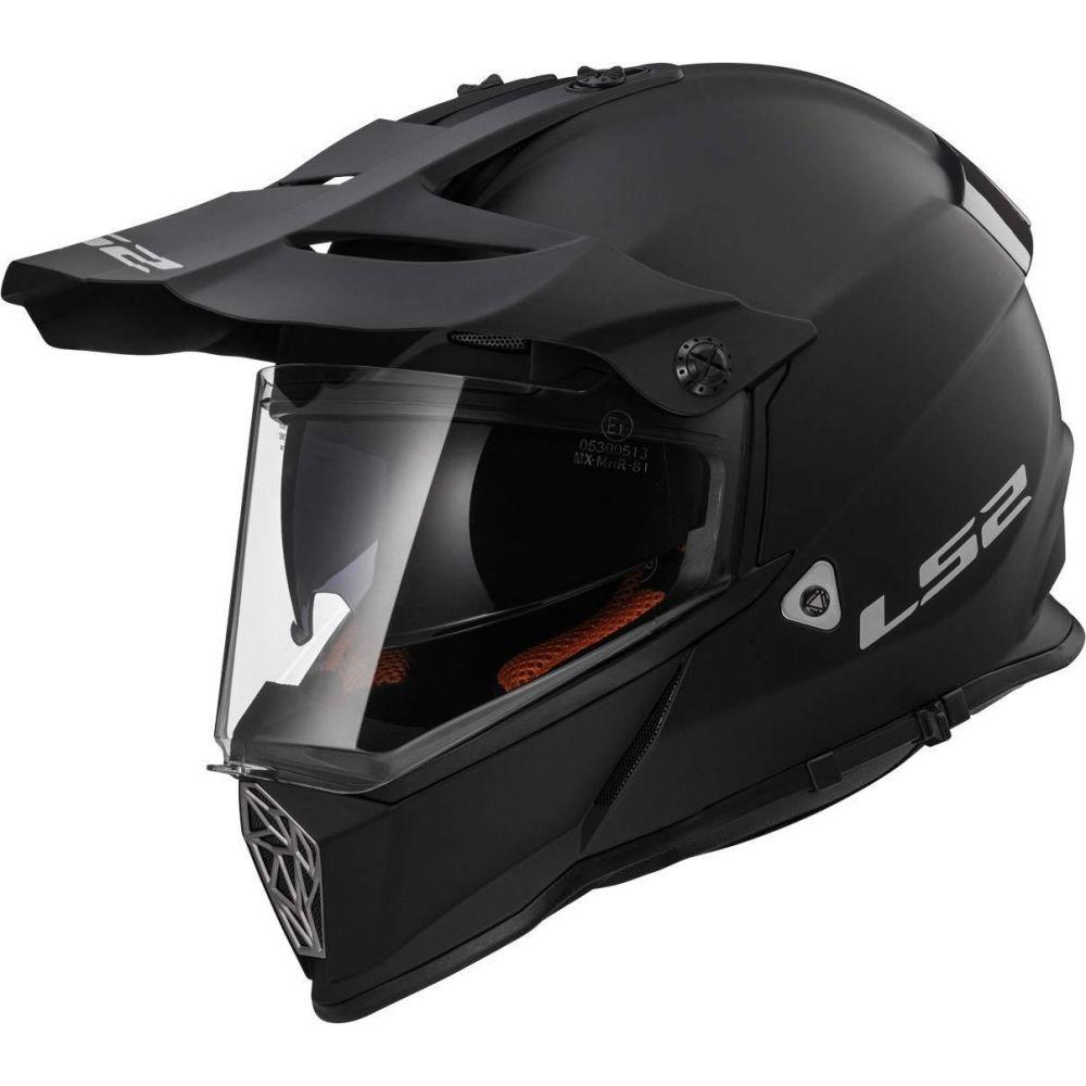 Casca ATV MX436 Pioneer Solid Matt Black