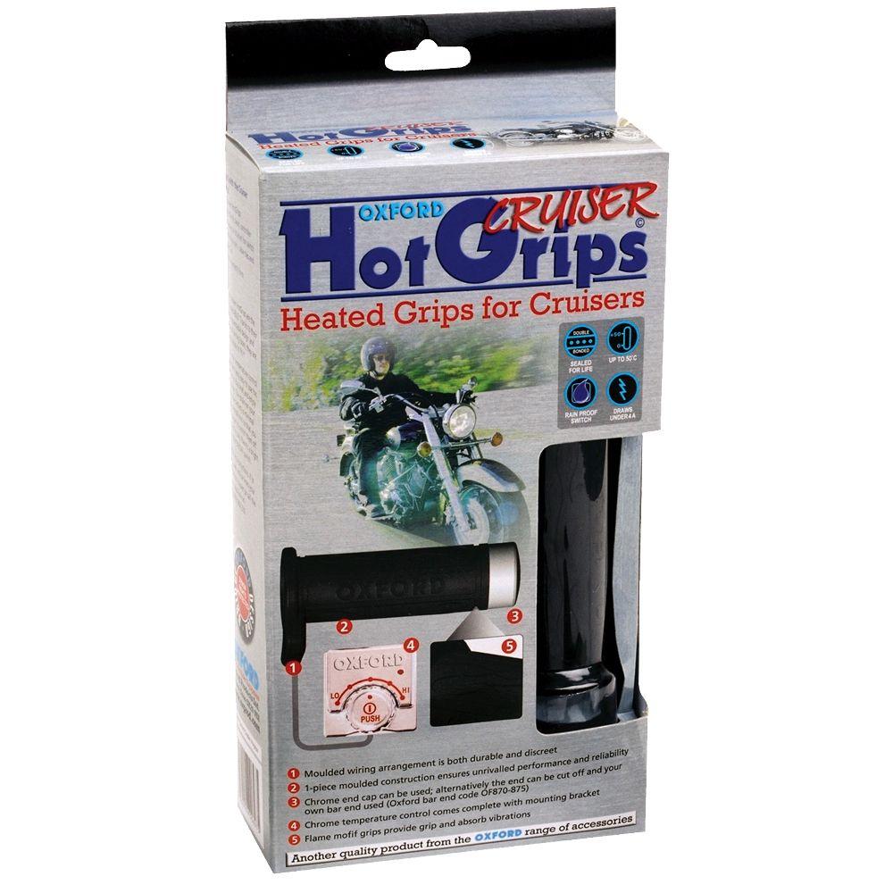 Mansoane Incalzite HotGrips pentru CRUISERS (1 INCH)