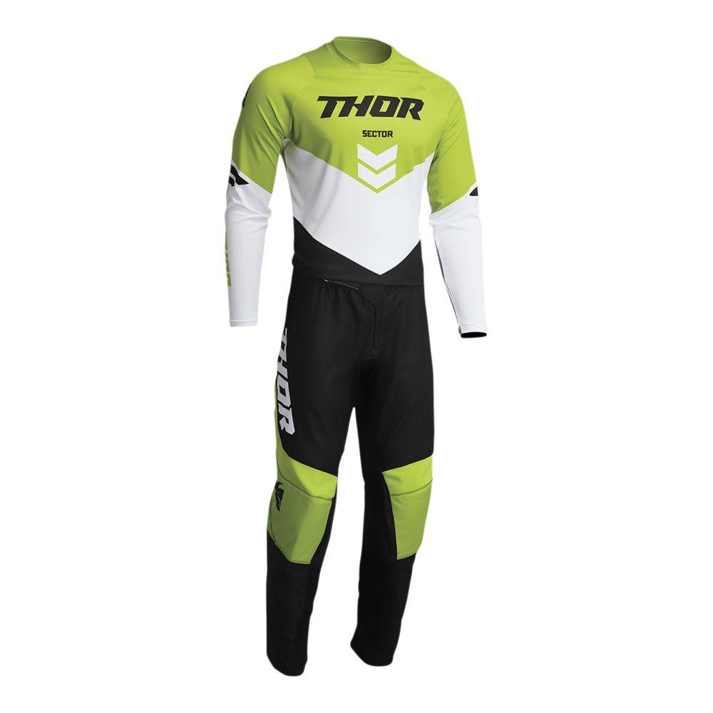 Combo Tricou+Pantaloni Sector Chev Black/Green 2022